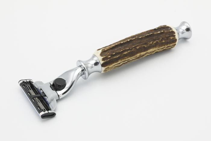 Maszynka Gillette Mach 3 z rączką z poroża