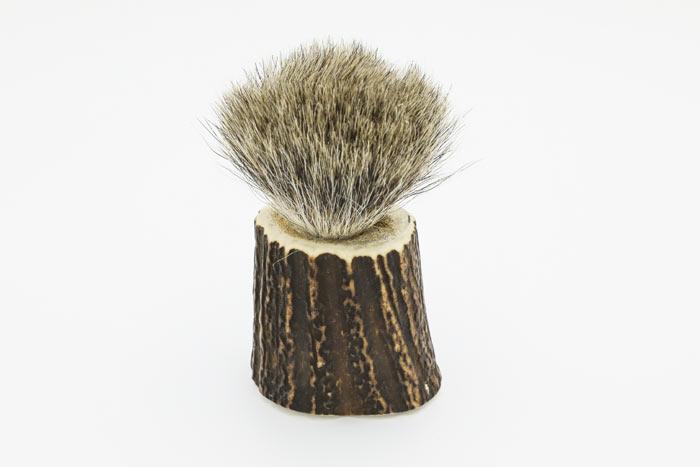 Pędzel do golenia z włosia borsuka