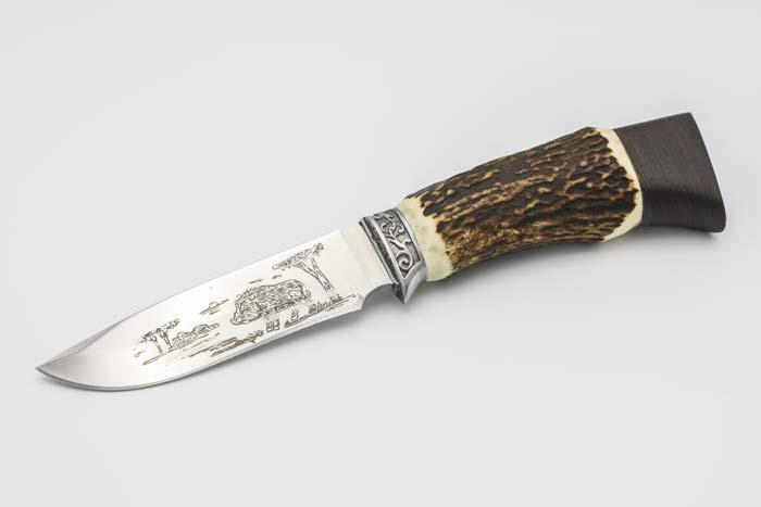 Nóż Myśliwski  Dzik